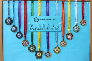FUN RUN medals 1