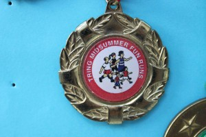 Fun Run medal 2004