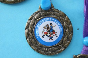 Fun Run medal 2002