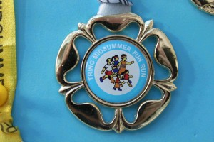 Fun Run medal 2011
