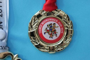 Fun Run medal 2012