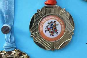 Fun Run medal 2009