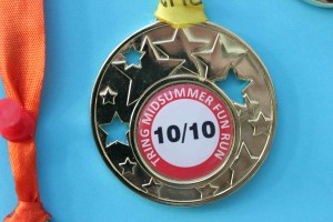 Fun Run medal 2010