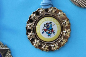 Fun Run medal 2008