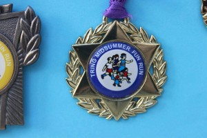Fun Run medal 2007